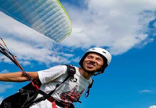 обучение полетам на параплане по программе начни летать