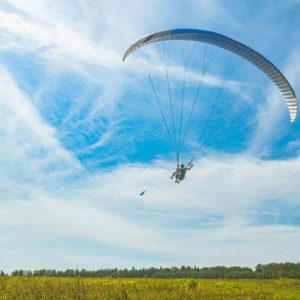 полет на параплане с инструктором