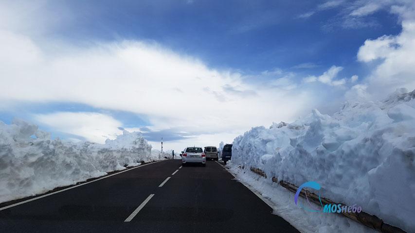 Снег на вершине Тейде