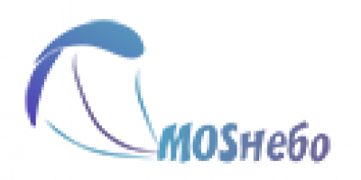 логотип для шапки мос небо